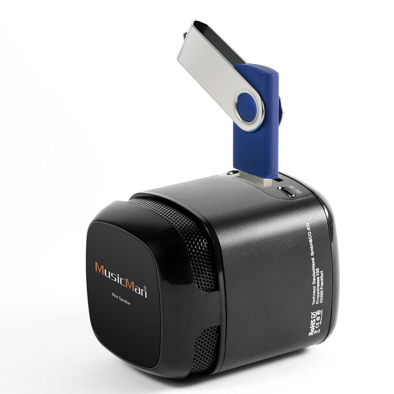 MusicMan X6 Makro Soundstation Lautsprecher - schwarz