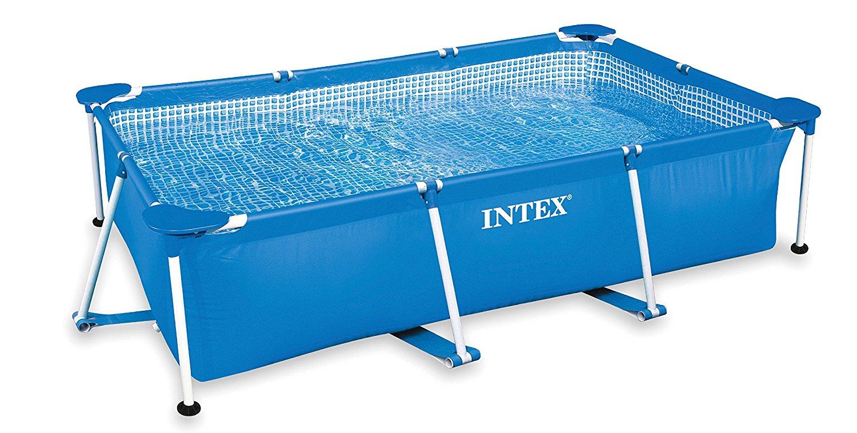 Intex Family Schwimmbecken, blau, 260 x 160 x 65 cm