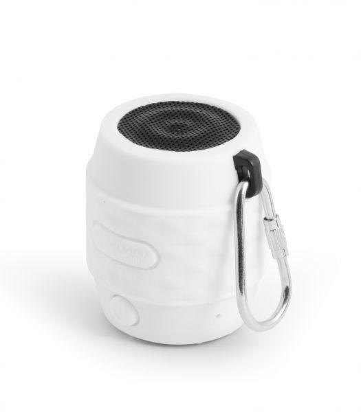 MusicMan BT-X11 wasserfest NANO Bluetooth Lautsprecher weiß