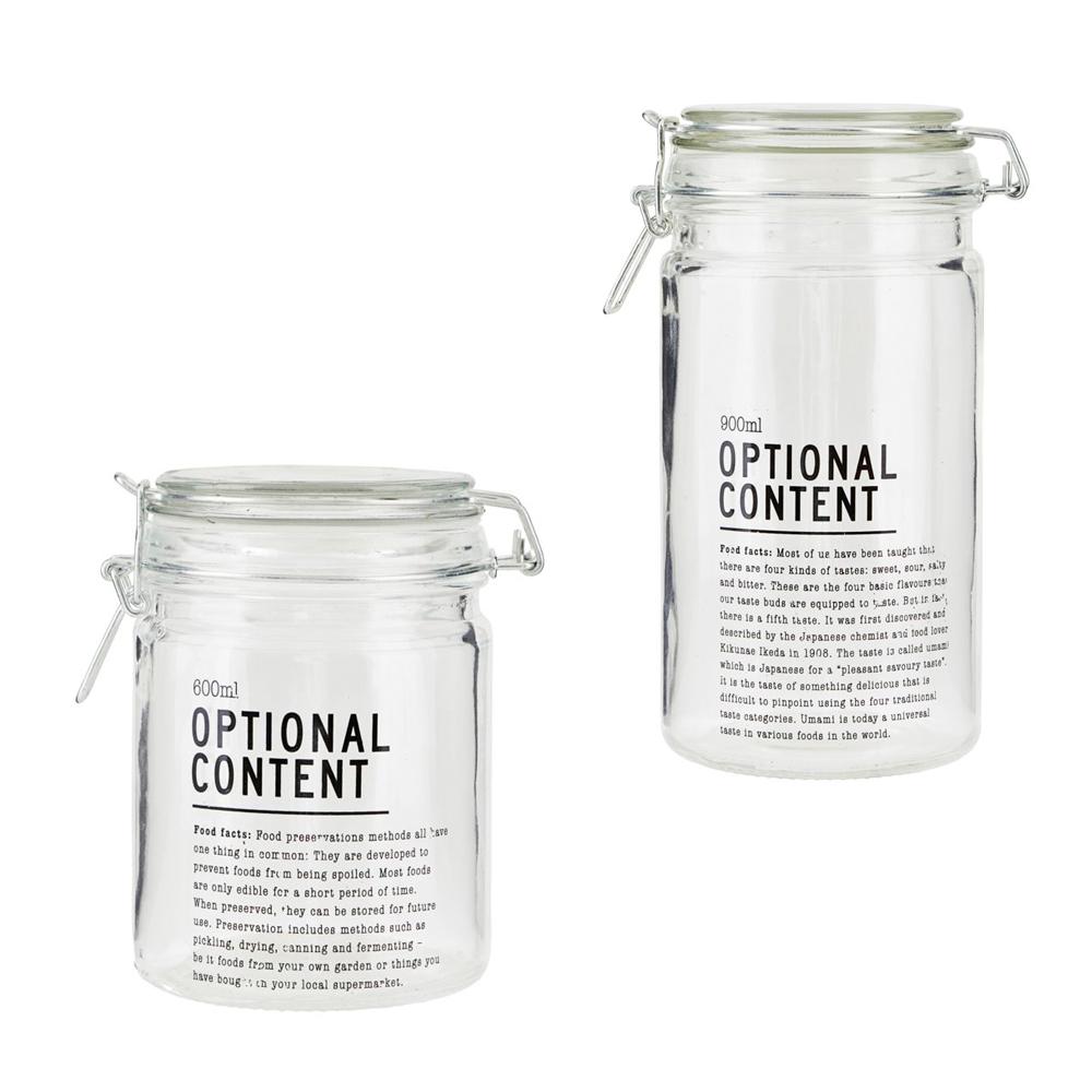 Optional Content - Einmachgläser 600 ml und 900 ml